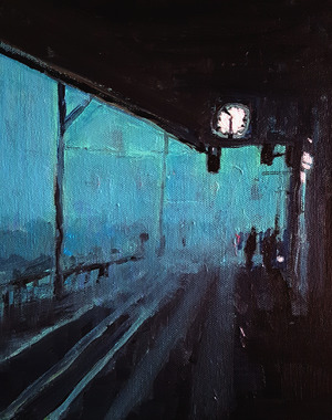 Platform Fog Blue